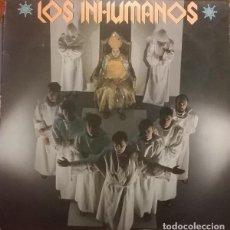 Discos de vinilo: LOS INHUMANOS: LP PILAR, PARAISO TROPICAL + 8 EPIC 26368, 1985. Lote 114350323