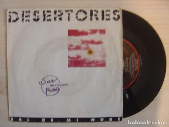 DESERTORES - SAL DE MI NUBE - SINGLE PROMOCIONAL 1991 - CFE (Música - Discos - Singles Vinilo - Grupos Españoles de los 90 a la actualidad)