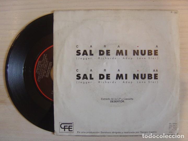Discos de vinilo: DESERTORES - Sal de mi nube - SINGLE PROMOCIONAL 1991 - CFE - Foto 2 - 114357535