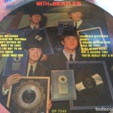 Discos de vinilo: WITH THE BEATLES. Lote 114357795