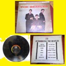 Discos de vinilo: THE BEATLES - INTRODUCING..THE BEATLES 64 !! RARO 1º LP !! SOLO EDITADO EN USA !! COLLECTORS !! EXC. Lote 69747513