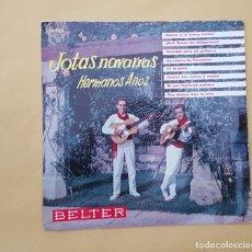 Discos de vinilo: EP - HERMANOS ANOZ - JOTAS NAVARRAS . BELTER 50.953 - 1961. Lote 114368679