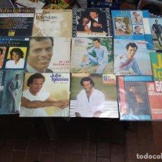 Disques de vinyle: JULIO IGLESIAS / 14 SINGLES / SPAIN ESPAÑA. Lote 114372011