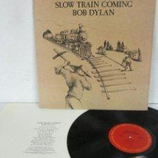 Discos de vinilo: BOB DYLAN - SLOW TRAIN COMING - LP - COLUMBIA 1979 USA. Lote 114390867
