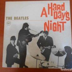 Discos de vinilo: F-461- DISCO VINILO LP JAPONÉS THE BEATLES QUE NOCHE LA DE AQUEL DÍA. A HARD DAY´S NIGHT . Lote 114393543