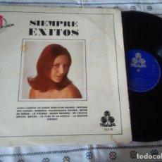 Discos de vinilo: 9-LP SIEMPRE EXITOS, SERIE 10000,1970. Lote 114399919