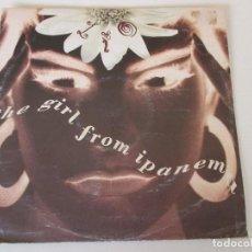 Discos de vinilo: LIO THE GIRL FROM IPANEMA +2 POLYDOR 1990. Lote 114402923