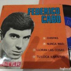 Discos de vinilo: EP FEDERICO CABO CHISPAS EX/EX. Lote 114411111