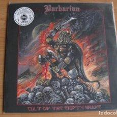 Discos de vinilo: BARBARIAN: CULT OF THE EMPTY GRAVE / CELTIC FROST, WARHAMMER, BUNKER 66, VENOM, USURPER.... Lote 114421683