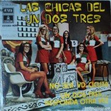 Discos de vinilo - Las chicas del un, dos, tres - No sea usted cicuta - Edición de 1972 de España - 114421943
