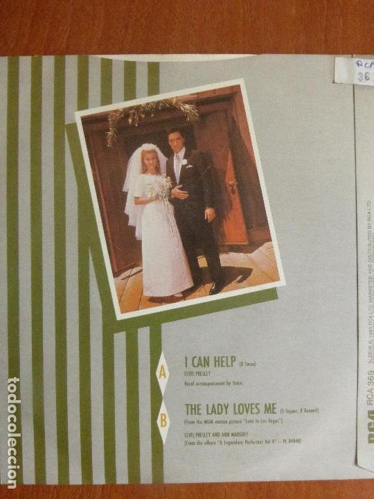 Discos de vinilo: ELVIS PRESLEY - I Can Help - Foto 2 - 114422291