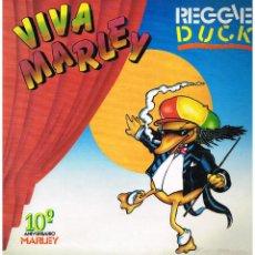 Discos de vinilo: REGGIE DUCK - SWING MARLEY - LP 1991. Lote 114424047