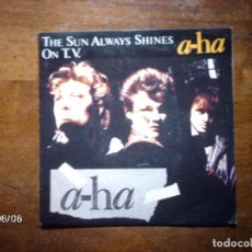Discos de vinilo: A-HA - THE SUN ALWAYS SHINES ON T.V. + DRIFTWOOD . Lote 114427359