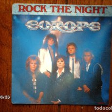 Discos de vinilo: EUROPE - ROCK THE NIGHT + SEVEN DOORS HOTEL . Lote 114429075