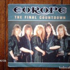Discos de vinilo: EUROPE - THE FINAL COUNTDOWN + ON BROKEN WINGS . Lote 114429395