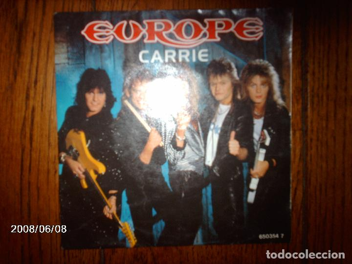 EUROPE - CARRIE + LOVE CHASER (Música - Discos - Singles Vinilo - Heavy - Metal)