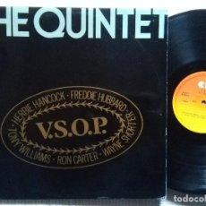 Discos de vinilo: V.S.O.P. - '' THE QUINTET '' 2 LP ORIGINAL SPAIN 1978 HERBIE HANCOCK RON CARTER WAYNE SHORTER ETC.... Lote 114439687
