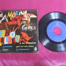 Disques de vinyle: MOLINOS EN RITMO BEBO VALDES BABALU 1960. Lote 212343058