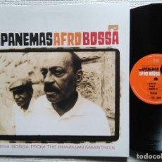 Discos de vinilo: THE IPANEMAS - '' AFRO BOSSA '' LP UK 2003. Lote 51057175