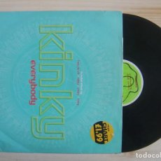 Discos de vinilo: KINKY - EVERYBODY - MAXISINGLE UK 33 - 1996 - FEVERPITCH. Lote 114450191