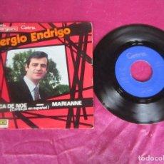 Discos de vinilo: SERGIO ENDRIGO - EL ARCA DE NOE (EN ESPAÑOL) - MARIANNE SINGLE VINILO. Lote 114452879