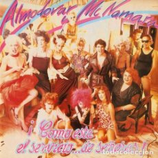 Discos de vinilo: LP ALMODOVAR & MCNAMARA ¡COMO ESTA EL SERVICIO DE SEÑORAS! VINILO+2CD+DVD MOVIDA. Lote 130762568