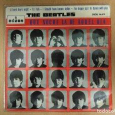 Discos de vinilo: THE BEATLES - QUE NOCHE LA DE AQUEL DIA. Lote 114478395