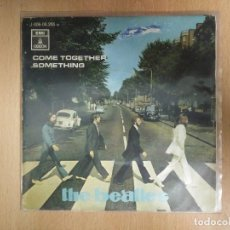 Discos de vinilo: THE BEATLES - COME TOGETHER - SOMETHING. Lote 114478863