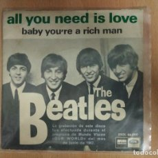 Discos de vinilo: THE BEATLES - ALL YOU NEED IS LOVE. Lote 114480255