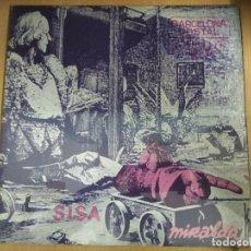 Discos de vinilo: DISCO LP SISA POSTAL BARCELONA. Lote 114480427