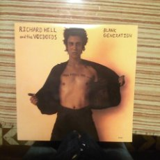 Discos de vinilo: RICHARD HELL AND THE VOIDOIDS LP-BLANK GENERATION--SIRE--VINILO ROJO. Lote 131191507
