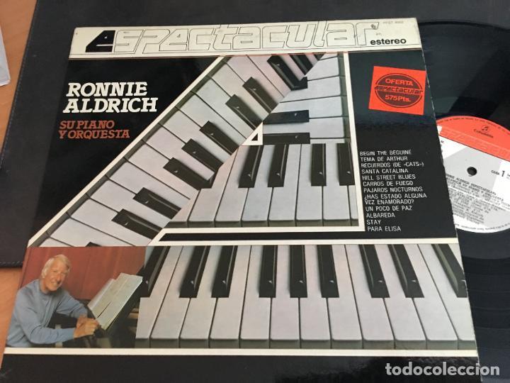 RONNIE ALDRICH LP ESPAÑA 1982 (VIN-W) (Música - Discos - LP Vinilo - Orquestas)