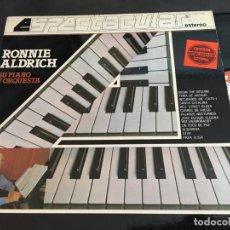 Discos de vinilo: RONNIE ALDRICH LP ESPAÑA 1982 (VIN-W). Lote 114488971
