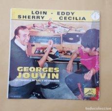 Discos de vinilo: EP - GEORGES JOUVIN SU TROMPETA DE ORO Y SU ORQUESTA - LOIN +3 - LA VOZ DE SU AMO 7EPL 13.895 - 1963. Lote 114492699