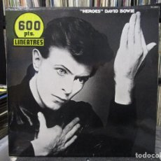 Discos de vinilo: DAVID BOWIE - HEROES (LP, ALBUM, RE) SPAIN. Lote 114500863