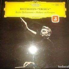 Discos de vinilo: VINILO DEUTSCHE GRAMMOPHON GESELLSCHAFT..BEETHOVEN EROICA. Lote 114505067