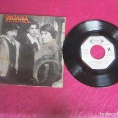 Discos de vinilo: TRIANA. DE UNA NANA SIENDO NIÑO/ AIRES DE MI CANCIÓN 1983 SINGLE VINILO. Lote 114512835