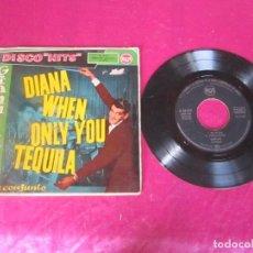 Discos de vinilo: GIANNI ALES Y SU CONJUNTO-DIANA WHEN ONLY YOU TEQUILA EP VINILO 1959. Lote 114516583