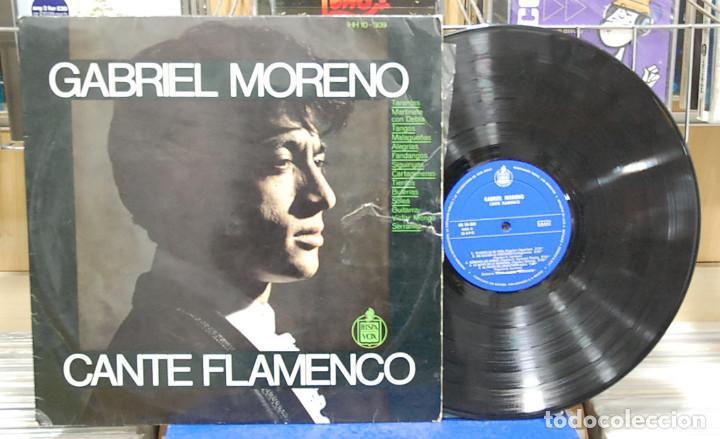 GABRIEL MORENO. CANTE FLAMENCO. HISPAVOX 1967. REF. HH 10-309. LP (Música - Discos - LP Vinilo - Flamenco, Canción española y Cuplé)