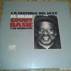 Discos de vinilo: LA HISTORIA DEL JAZZ EL GRAN COUNT BASIE Y SU ORQUESTA. Lote 114518907