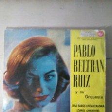 Discos de vinilo: PABLO BERTRAN RUIZ Y SU ORQUESTRA - UNA TARDE ENCANTADORA.... Lote 114521900