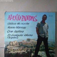 Discos de vinilo: ALECO PANDAS - LISBOA DE NOCHE.... Lote 114522978