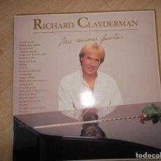 Discos de vinilo: RICHARD CLAYDERMAN MIS CANCIONES FAVORITAS 2LPS 1991 ED ESPAÑOLA. Lote 114532871