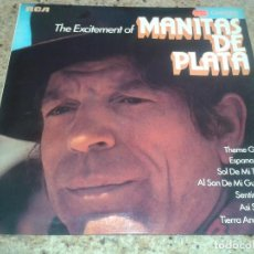 Discos de vinilo: THE EXCITEMENT OF MANITAS DE PLATA. Lote 114535443
