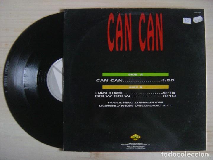 Discos de vinilo: CAN CAN GANG - Can can - MAXISINGLE 45 - ESPAÑOL 1992 - MAX - Foto 2 - 114536659
