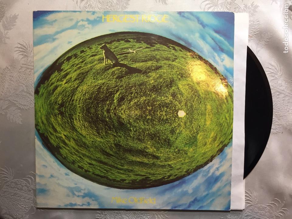LP: MIKE OLDFIELD, HERGEST RIDGE. (Música - Discos - LP Vinilo - Pop - Rock - New Wave Extranjero de los 80)