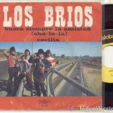 Discos de vinilo: LOS BRIOS / BUSCA SIEMPRE LA AMISTAD / SINGLE 45 RPM // EDITADO POR PALOBAL. Lote 114542191