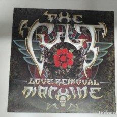 Discos de vinilo: THE CULT – LOVE REMOVAL MACHINE - ALEMANIA RARE, SINGLE. Lote 114545239