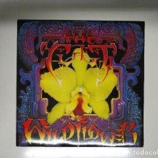 Discos de vinilo: THE CULT – WILD FLOWER - VINYL, 45 RPM, SINGLE - BEG 195 UK. Lote 114545519