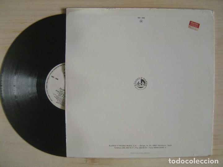 Discos de vinilo: CLUB HOUSE DEEP - IN MY HEART - MAXISINGLE 45 - ESPAÑOL 1991 - BLANCO Y NEGRO - Foto 2 - 114558243
